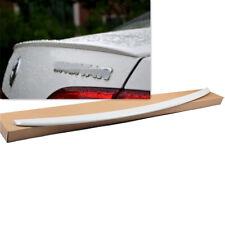 For VW Jetta MK6 GLI 12-14 Sedan Rear Trunk Lip Spoiler Wing White Painted Tail