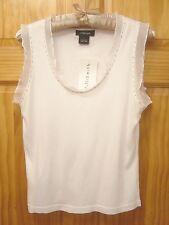 WILLI SMITH *NWT* 100% Cotton Scoop Neck Sleeveless Top - Women's Size Large