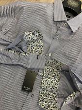 Camicie classiche da uomo blu slim