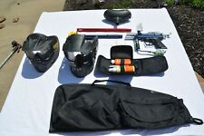 Spyder Tl Paint Ball Gun,Blue, Used with plenty of Extras! Ready to play!
