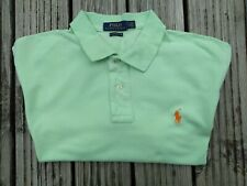 Ralph Lauren Polo Shirt Large Green Classic Fit Very Good condition