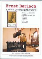 Ernst Barlach Gedenkblatt anlässlich 150. Geburtstag, Der Flöttenspieler (11)