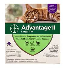 Bayer Advantage Ii Flea Prevention for Large Cats over 9 lb 2 Doses