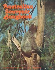 AUSTRALIAN SOUVENIR SONGBOOK -  Allans Music Australia (1980)