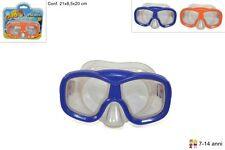 Maschera sub regolabile mare piscina nuoto ragazzo