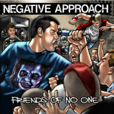 NEGATIVE APPROACH FRIENDS OF NO ONE  CD