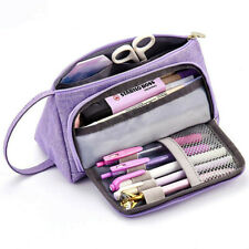Big Capacity Pencil Pen Case Bag For Middle High School Office College Girl