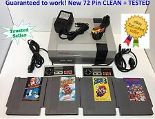 Nintendo NES Console System Bundle NEW PIN Games Super Mario Bros 1 2 3 DR MARIO