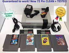 Nintendo NES Console System Bundle NEW PIN Games Super Mario Bros 1 2 3 DR MARIO