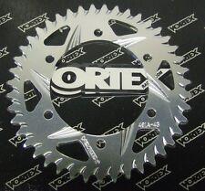 Vortex Motorcycle Rear Sprocket Silver 491A-43 GSXR 600 750 Hayabusa TL1000 ZX6