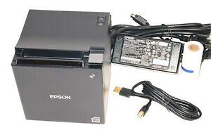 Epson TM-M30 Thermal POS Receipt Printer, Auto Cutter, USB, Ethernet & Bluetooth