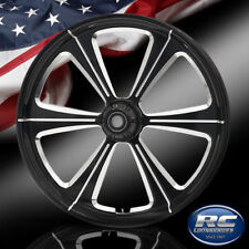 """RC Components Patriot Sniper Eclipse 23"""" Front Wheel Rim Harley Touring Bagger"""
