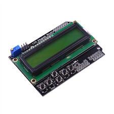 Green 16x2 (1602 / HD44780) LCD Screen Keypad Shield for Arduino UNO, MEGA 2560