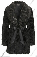Popper Knee Length Wool Blend Coats & Jackets for Women