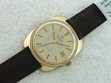 VINTAGE ATLANTIC GALLEON AUTOMATIC 25 Jewels New Leather band Swiss Watch TESTED