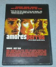 Amores Perros (Dvd, 2001) *Rare opp