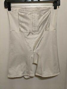 Shape wear Women's Large Cupid white beautiful tummy slimming euc b18