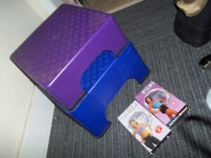 THE FIRM Original Fanny Lifter Step All 8 rubber Feet Included, Plus 2 VHS Tapes