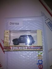 Dw168 Kubelwagen 1:43 Scale Military german Vehicle WWII Cararama ww2