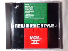 Cd NEW MUSIC STYLE VOL. II DATURA DOUBLE DEE MARVIN GARDENS BLACK MACHINE CO.RO.