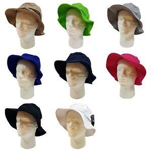 WIDE BRIM FISHERMAN BUCKET HAT (100% Cotton)