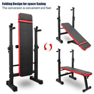 VMARI【USA in Stock Weight Bench Sit Up Bench Capacity for Weight Training Exercise Bench Abdominal Training Home Gym