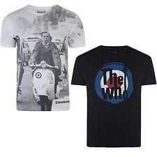 Lambretta Crew Neck Singlepack T-Shirts for Men