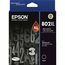 Epson 802XL Black Ink Cartridge (C13T356192)