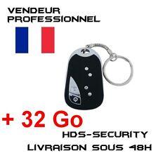 Mini Camera Spy Keychain + Micro SD HC 32gb Kingston Beep Car Wrench Keys