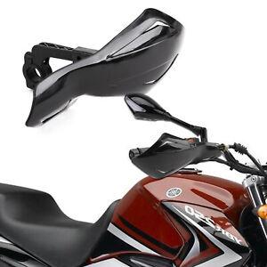 Universal Handguards Hand Guards Protectors Motorcycle Motorbike 22mm UK STOCK