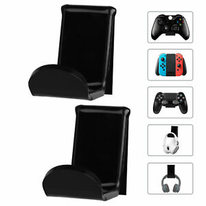 4pcs Game Controller Wall Hanger Mount Stand Holder for Xbox One/360 Switch PS4