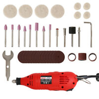 220V Mini Electric Drill Grinder Sets Rotary Tool for Cutting Stone Metal 180W