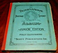 CatalinaStamps: Scott International Postage Stamp Album 1941 w/3800 Stamps, #D9