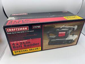 "Craftsman U.S.A. - 4"" x 21"" 7.5 Amp Belt Sander"