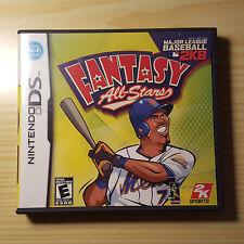 Fantasy All Stars: Major League Baseball 2K8 (Nintendo DS) Complete