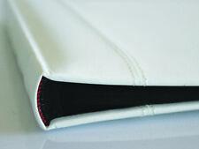 Photo Album White Glorious Leather 50 page Drymount Memory Book