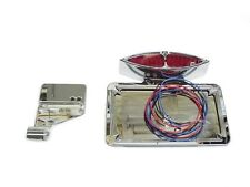 BOSS HOSS motorcycle taillight license plate frame bracket red light diamond LFT