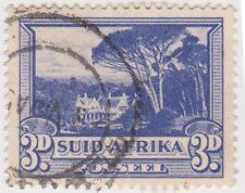 (RSA106)1926 South Africa 3dBlue Groot Schuur(Suid)(E)