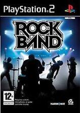 Rock Band for Playstation 2 (2008, PAL)