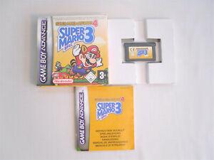 Super Mario 3 for Nintendo Game Boy Advance - Super Mario Advance 4