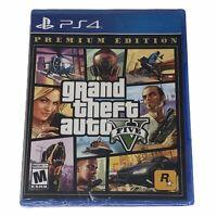 Grand Theft Auto V Premium Edition (PlayStation 4, 2013) Brand New Sealed