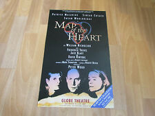 MAP OF THE HEART by William Nicholson / Peter Wood GLOBE Theatre Poster