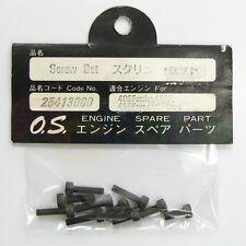 SCREW SET 40SF,46SF # OS25413000 **O.S. Engines Genuine Parts**