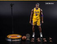 "1:6 Scale Real Masterpiece NBA Kobe Bryant 12"" Action Figure Full Set New In Box"