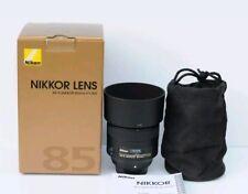 Nikon Lens AF-S Nikkor 85mm f/1.8G Mint Months Old
