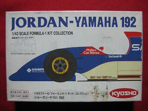 Jordan Yamaha 192 Diecast Metal Body 1/43 Kyosho 1992 Formula 1 Racing Kit Rare