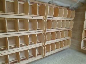 PIGEON PERCHES MADE WITH TOP QUALITY PLYWOOD (UPGRADED AND DEEPER RECESS)