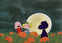 Peanuts-The Great Pumpkin Rises? Limited Edition Cel Set Signed by Bill Melendez