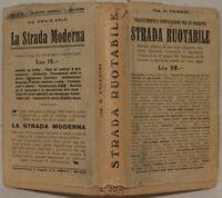 CHIARINI TRACCIAMENTO COMPILAZIONE STRADA RUOTABILE 1927 PLANCHES INGEGNERIA