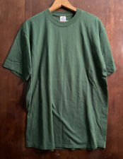 New listing Vintage Jerzees Combed Cotton Blank Tshirt Mens Size Xl Firest Green 90s Single